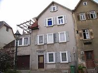 Ansicht von Osten / Wohnhaus in 74354 Besigheim (04.07.2016 - Denkmalpflegerischer Werteplan, Gesamtanlage Besigheim, Regierungspräsidium Stuttgart)