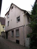 Ansicht von Osten / Wohnhaus in 74354 Besigheim (Denkmalpflegerischer Werteplan, Gesamtanlage Besigheim, Regierungspräsidium Stuttgart)