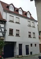 Straßenseite (Ostseite) / Wohnhaus  in 74354 Besigheim (30.06.2016 - M.Haußmann)