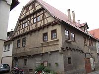 Ansicht von Südost (vor der Restaurierung) / Wohnhaus in 74354 Besigheim (Denkmalpflegerischer Werteplan, Gesamtanlage Besigheim, Regierungspräsidium Stuttgart)