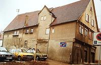 (historische) Ansicht von West / Wohn- und Geschäftshaus in 74354 Besigheim (20.08.2014 - Atsdtarchiv Besigheim)
