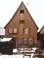(historische) Ansicht von Ost / Wohn- und Geschäftshaus in 74354 Besigheim (20.08.2014 - Stadtarchiv Besigheim)