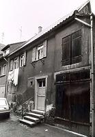 (historische) Ansicht von Süden / Wohnhaus und Scheune in 74354 Besigheim (Stadtarchiv Besigheim)