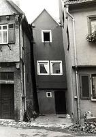 (historische) Ansicht von Westen / Wohnhaus in 74354 Besigheim (Stadtarchiv Besigheim)