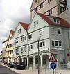 Süd- Westseite  erbaut 1991 / Geschäftshaus in 74354 Besigheim (05.07.2013 - M. Haußmann)