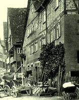 um 1920 / Geschäftshaus in 74354 Besigheim (Stadtarchiv Besigheim)