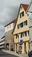Westseite  2016 / Wohn- und Geschäftshaus in 74354 Besigheim (05.07.2016 - M.Haußmann)