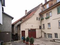 Ansicht von Osten / Scheune und Werkstatt in 74354 Besigheim (Denkmalpflegerischer Werteplan, Gesamtanlage Besigheim, Regierungspräsidium Stuttgart)