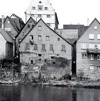 Enzseite (Westeite) / Scheune und Werkstatt in 74354 Besigheim (Stadtarchiv Besigheim)