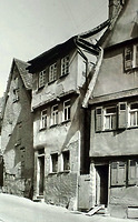 Westseite / Abgegangenes Wohnhaus in 74354 Besigheim (Stadtarchiv Besigheim)