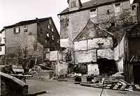 Abgebrochene Häuser Hauptstrasse 8, 10, 12 19 / Abgegangenes Wohnhaus in 74354 Besigheim (Stadtarchiv Besigheim)