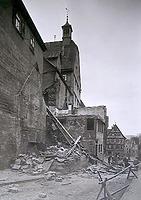 Abgebrochene Häuser Hauptstrasse 8, 10, 12 19.. / Abgegangenes Wohnhaus in 74354 Besigheim (Stadtarchiv Besigheim)