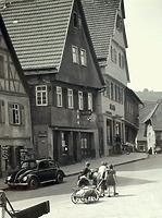 Ansicht von Osten / Wohn- und Geschäftshaus in 74354 Besigheim (Stadtarchiv Besighein)