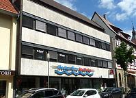 Neubau 1975  Südwestseite / Wohn- und Geschäftshaus in 74354 Besigheim (15.07.2016 - M.Haußmann)