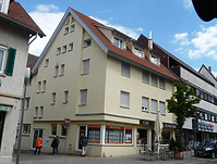 Nord- Westseite  erneuert 2014 / Wohn- und Geschäftshaus in 74354 Besigheim (15.07.2016 - M.Haußmann)