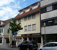 Westseite erneuert 2014 / Wohn- und Geschäftshaus in 74354 Besigheim (15.07.2016 - M.Haußmann)