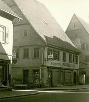 Ansicht von Nord-West / Wohn- und Geschäftshaus in 74354 Besigheim (Stadtarchiv Besigheim)