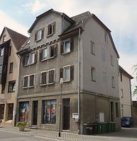Nord- Ostseite / Wohn- und Geschäftshaus in 74354 Besigheim (16.07.2016 - M.Haußmann)
