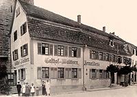Ansicht Nord-West / Wohn- und Geschäftshaus in 74354 Besigheim (Stadtarchiv Besigheim)