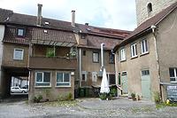 Hof und Rückseite von Gebäude Hauptstraße 30 mit Anbau und Stallung / Wohn- und Geschäftshaus in 74354 Besigheim (16.07.2016 - M.Haußmann)