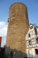Ansicht von Westen / Waldhornturm in 74354 Besigheim (25.07.2016 - M. Haußmann)