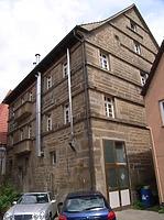 Rückseite von Süden / Wohnhaus mit Gastwirtschaft in 74354 Besigheim (Denkmalpflegerischer Werteplan, Gesamtanlage Besigheim, Regierungspräsidium Stuttgart)