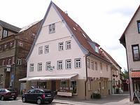 Ansicht von Nordost / Wohn- und Geschäftshaus in 74354 Besigheim (Denkmalpflegerischer Werteplan, Gesamtanlage Besigheim, Regierungspräsidium Stuttgart)