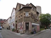 Ansicht von Norden / Wohn- und Geschäftshaus in 74354 Besigheim (Denkmalpflegerischer Werteplan, Gesamtanlage Besigheim, Regierungspräsidium Stuttgart)