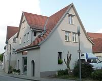 Ansicht von Westen / Wohnhaus, ehemalige Scheuer in 74354 Besigheim (26.07.2016 - M. Haußmann)
