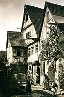 um 1900 / Abgegangenes Ackerbürgerhaus, heute Wohnhaus  in 74354 Besigheim (Stadtarchiv Besigheim)