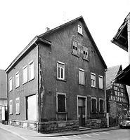 Nord- Ostseite vor dem Abbruch 1982 / Wohn- und Geschäftshaus, abgegangenes Wohnhaus in 74354 Besigheim (23.07.1982 - M.Haußmann)