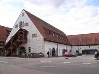 Nordostseite nach dem Umbau 1989 / Stadthalle Alte Kelter  in 74354 Besigheim (Denkmalpflegerischer Werteplan,  Gesamtanlage Besigheim  Regierungspräsidium Stuttgart)