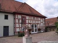 Ostseite des Anbaus nach dem Umbau 1989 / Stadthalle Alte Kelter  in 74354 Besigheim (Denkmalpflegerischer Werteplan,  Gesamtanlage Besigheim  Regierungspräsidium Stuttgart)