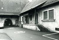 Neubau der Gebäudes Hauptstraße 61 1959 / Stadthalle Alte Kelter  in 74354 Besigheim (Stadtarchiv Besigheim)