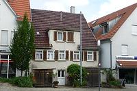 Südseite / Wohnhaus in 74354 Besigheim (16.07.2016 - M.Haußmann)