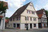 Hauptstraße 65  Südwestseite / Wohn- und Geschäftshaus Nr. 65 und 65 /1 in 74354 Besigheim (16.07.2016 - M.Haußmann)