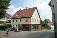 Süd- Westseite / Wohn- und Geschäftshaus in 74354 Besigheim (16.07.2016 - M.Haußmann)
