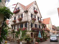Ostseite nach 2003 / Wohn- und Gasthaus in 74354 Besigheim (Denkmalpflegerischer Werteplan,  Gesamtanlage Besigheim  Regierungspräsidium Stuttgart)