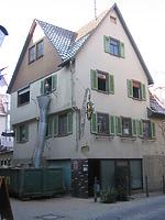Ostseite beim Umbau 2003 / Wohn- und Gasthaus in 74354 Besigheim (Fam. Kobar)