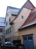 Nordseite vor 2003 / Wohn- und Gasthaus in 74354 Besigheim (31.08.2016 - Fam. Kobar)