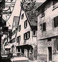 um 1930 / Wohnhaus in 74354 Besigheim (M.Haußmann)