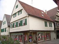 Ansicht von Südwest / Wohn- und Geschäftshaus in 74354 Besigheim (Denkmalpflegerischer Werteplan, Gesamtanlage Besigheim, Regierungspräsidium Stuttgart)