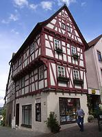 Ansicht von Westen / Wohnhaus in 74354 Besigheim (Denkmalpflegerischer Werteplan, Gesamtanlage Besigheim, Regierungspräsidium Stuttgart)