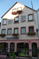 Ansicht von Westen / Wohn- und Geschäftshaus in 74354 Besigheim (27.08.2016 - M. Haußmann)