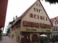 """Ansicht von Osten / Gasthaus """"Zum Anker"""" in 74354 Besigheim (Denkmalpflegerischer Werteplan, Gesamtanlage Besigheim, Regierungspräsidium Stuttgart)"""