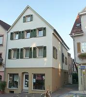 Ansicht von Südwest / Wohn- und Geschäftshaus in 74354 Besigheim (15.09.2016 - M. Haußmann)