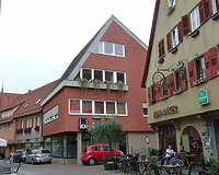 Nordwestseite / Geschäftshaus in 74354 Besigheim (15.09.2016 - M.Haußmann)