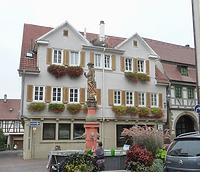 Südwestseite / Wohn- und Geschäftshaus in 74354 Besigheim (15.09.2016 - M.Haußmann)