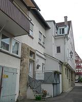 Rückseite Kirchstraße 33 und 33/1 / Wohn- und Geschäftshaus in 74354 Besigheim (15.09.2016 - M.Haußmann)