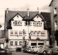 um 1950 / Wohn- und Geschäftshaus in 74354 Besigheim (Stadtarchiv Besigheim)